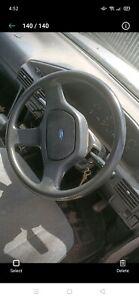 Ford Laser KH steering wheel