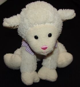 "Melissa & Doug Plush Sheep Lamb Stuffed Animal Toy 8 1/2"" Animal"