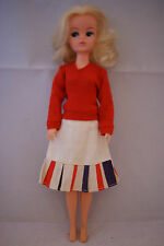 Pedigree SINDY doll bunches blonde hair in MIX N MATCH outfit 70's