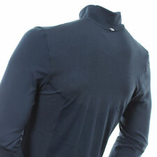 $120 Nike Golf  Dry Knit Half-Zip Long Armour Blue Size M Shirt 833280 454