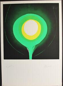 Otto Piene, o.T., Farbserigraphie, handsigniert + limitiert, Aufl.100 , 1969