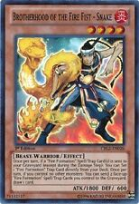 Brotherhood of the Fire Fist - Snake - CBLZ-EN026 - Super Rare 1st Edition