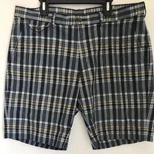 Polo Ralph Lauren Authentic India Madras Plaid Shorts Mens Tag Sz 34