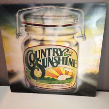 K-TEL COUNTRY SUNSHINE - Compilation from 1980 - Vinyl Record LP - EX