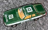 Vintage Corgi Toys Jaguar XJS Green #12 Race Car Nice!