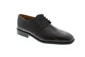 Giorgio Brutini Slaton 155222 Mens Brown Low Top Lace Up Plain Toe Oxfords Shoes
