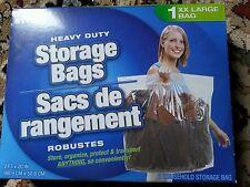 "Home Store XXL Household Storage Bag - 24""x 20"" Heavy Duty Plastic   1 ct"