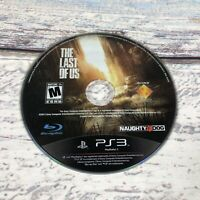 The Last of Us PS3 (Sony PlayStation 3, 2013) *Disc Only* Black Label