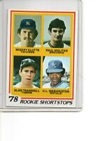 1978 Topps #707 Paul Molitor Rookie Card Milwaukee Brewers HOF SEE SCANS