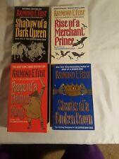 Lot 4 Raymond E. Feist The Serpentwar Saga Paperback