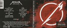 "METALLICA ""THROUGH THE NEVER"" 2013 LIVE 2 CD SET IN COLOUR GATEFOLD DIGIPAK"