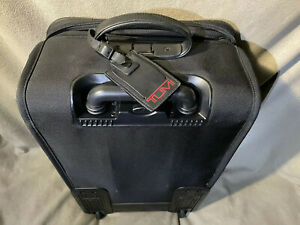 "Tumi Alpha 2 Condinental Black Carry-Ons -2 Wheel 22"""