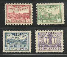 Poland WW I Cinderella German sanctioned Local Issue Stamp Collection