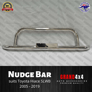 Stainless Steel Nudge Bar for Toyota Hiace 2005-2018 SLWB