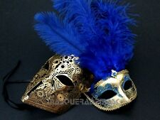Halloween Masquerade Ball Mask Couple Costume Birthday Cosplay Dress Up Party