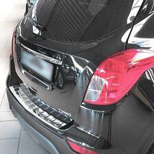 Edelstahl Ladekantenschutz V2A Chrom Opel Mokka und X / Chevrolet Trax ab 2012>