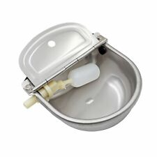 Muduoban Stainless Steel Automatic Waterer Bowl Horse Cattle Goat Sheep Pig D.