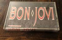Bon Jovi Slippery When Wet Cassette Tape  Factory Sealed Plastic Vintage