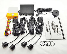 CISBO REVERSE PARKING 4 SENSORS AUDIO BUZZER ALARM CANBUS FREE VARIOUS COLOURS