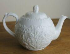 More details for vintage tea pot spode copeland china white ceramic pottery