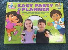 Dora The Explorer Go Diego Go Easy Party Planner CD-ROM Book