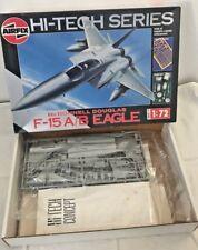 Maquette AIRFIX  HI-TECH SERIES 1/72ème F-15A/B EAGLE n° 10009/ 1992 MADE IN FR