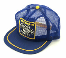 Vintage NOS Michelin Snapback Trucker Hat Full Mesh Patch Cap Made in the USA M