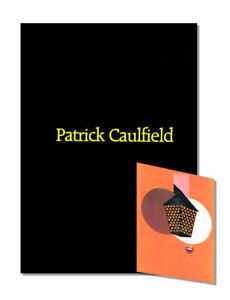 PATRICK CAULFIELD, Waddington Galleries 1989, First Edition Art Exhibition Book