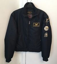100% Genuine AVIREX U.S.A Blue Bomber Jacket Size 2XL Not Alpha Industries