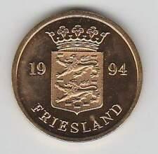 Nederland Rijksmunt 1994 uit muntset - Provincie Friesland (bkl)