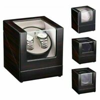 Deluxe Wood Watch Winder Storage Display Case Organizer Box Automatic RotationUS
