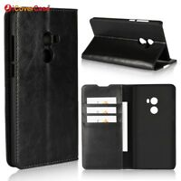 Luxury Genuine Leather Wallet Flip Case Stand Cover For Xiaomi Mi Mix 2