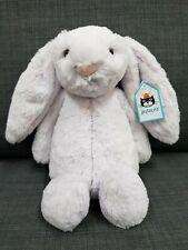 Jellycat Bashful Lavender Bunny Medium 31cm Soft Toy Rabbit Gift