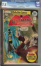 DETECTIVE COMICS #415 CGC 7.5 OW/WH PAGES