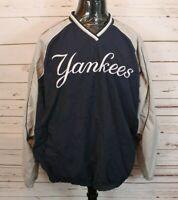 New York Yankees MLB Genuine Merchandise Pullover Windbreaker XL Embroidered
