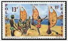 Timbre Folklore Polynésie PA21 ** lot 11826