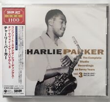 Charlie Parker - Complete Studio Recording on Savoy Years, Vol.3     CD  NEUF