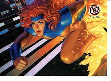 X MEN FLEER ULTRA 94 TEAM PORTRAIT CARD 9 OF 9