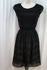 Studio M Dress SZ XS Black Short Chic Casual Dinner Evening Party Dress