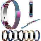 PETIT Magnétique Boucle acier inoxydable chic Bande Bracelet pour Fitbit Alta HR