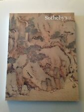 SOTHEBY CATALOGUE FINE CLASSICAL CHINESE PAINTINGS & CALLIGRAPHY  MARCH 23,2018