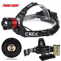 5000LM Headlamp CREE XM-L T6 LED 18650 Headlight Flashlight Head torch Lamp Lot