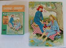 Vintage Skipper & Skooter Jigsaw Puzzle 100 Piece Whitman