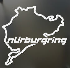 Nurburgring Map Funny Vinyl Sticker Decal Track Outline Car Window Wall Laptop