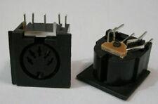 8x PCB Panel Mount MIDI Female DIN5 DIN 5-Pin Jack,D501