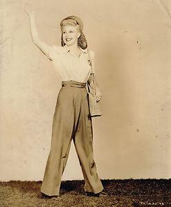 "Ginger Rogers publicity photo 1940s 7x9"" movie still photo #tc-adv-46"