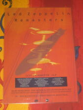 LED ZEPPELIN - REMASTERS -  LAMINATED PROMO POSTER