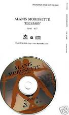ALANIS MORISSETTE You Learn RARE LIVE PROMO CD Single