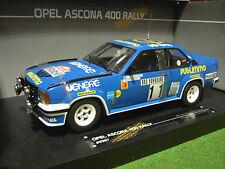 OPEL ASCONA 400 # 11 MONTE CARLO 81 RALLYE 1/18 voiture miniature SUN STAR 5357