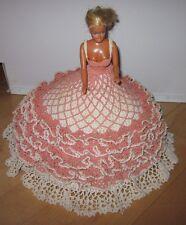 Vintage Barbie & Hand Crochet Dress Southern Belle Dated 1966